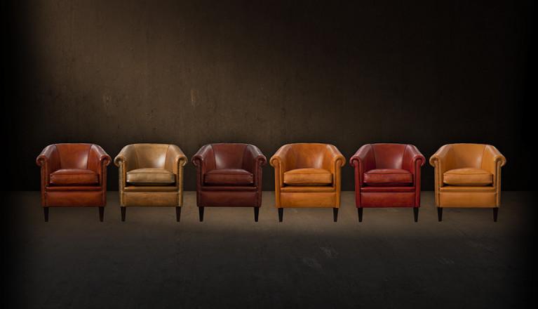 Tweedehands Meubels Amsterdam : Vorm en stijl fauteuils en banken in schapenleer rundleer amsterdam