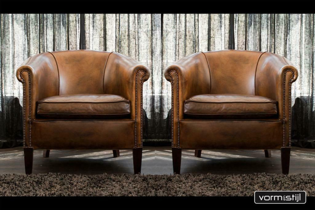 Strange 4X Leather Chairs Of England Club Chair In Thick Cowhide Leather Pdpeps Interior Chair Design Pdpepsorg