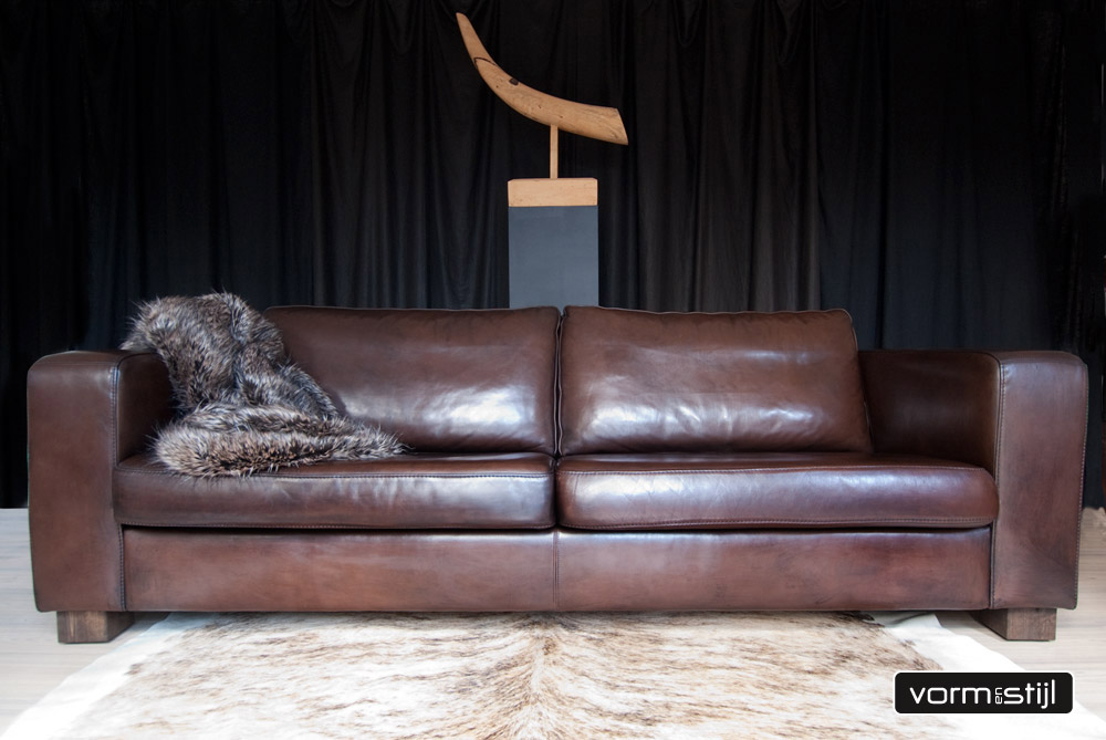 Machalke Design Bank.Linteloo Machalke Designer Sofa In Super Beautiful Saddle Leather