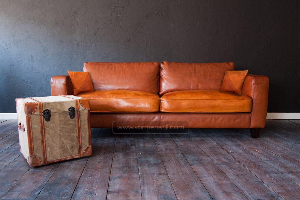Design Bank Linteloo.Linteloo Machalke Design Sofa In Thick Waxed Bull Leather
