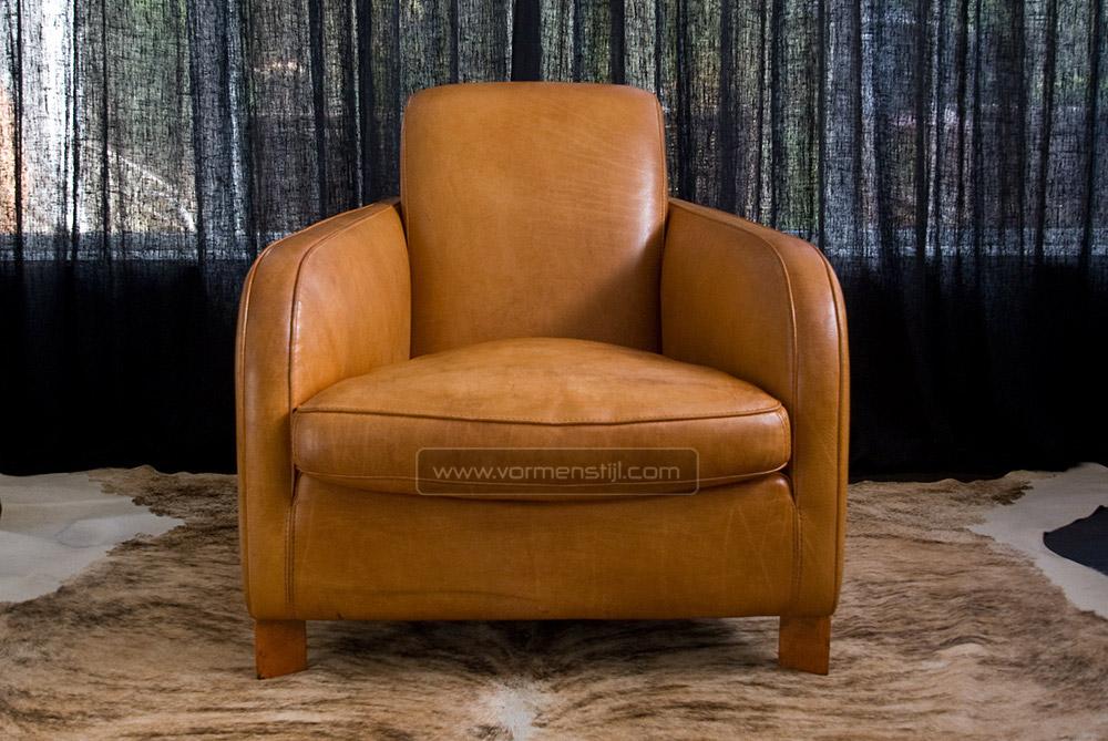 Mooie molinari long stretcher design fauteuil in dik stierenleder nieuwstaat amsterdam - Mooie fauteuil ...