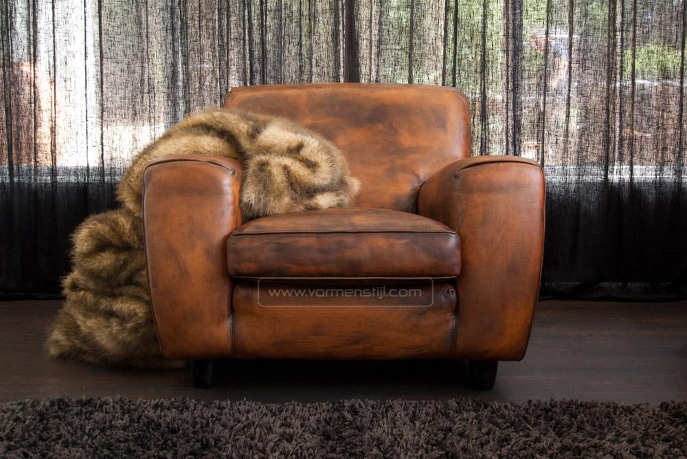 Vorm En Stijl.Designklassieker Van Molinari In Superdik Bull Leather